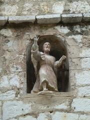 Eglise de la Conversion de Saint-Paul - English: saint paul de vence