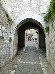 Porte de la ville - English: st paul de vence