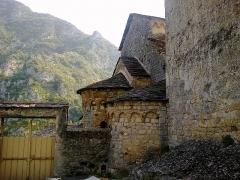 Chapelle de la Madone de Poggio -  La Roya Saorge Madona Poggio Chevet 07072015