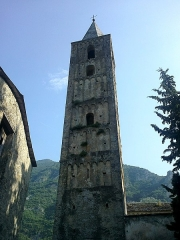 Chapelle de la Madone de Poggio -  La Roya Saorge Madona Poggio Clocher