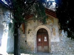 Chapelle de la Madone de Poggio -  La Roya Saorge Madona Poggio Entree