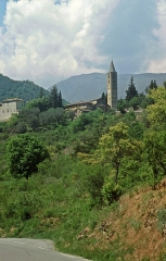 Chapelle de la Madone de Poggio -  Église de la Madone del Poggio in Saorge