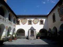 Ancien couvent des Franciscains -  La Roya Saorge Monastere Franciscain Cloitre