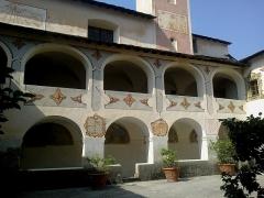 Ancien couvent des Franciscains -  La Roya Saorge Monastere Franciscain Cloitre Cadrans Solaires