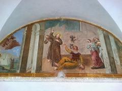 Ancien couvent des Franciscains -  La Roya Saorge Monastere Franciscain Cloitre Fresque