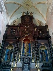 Ancien couvent des Franciscains -  La Roya Saorge Monastere Franciscain Eglise Choeur rtable
