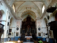 Ancien couvent des Franciscains -  La Roya Saorge Monastere Franciscain Eglise Nef