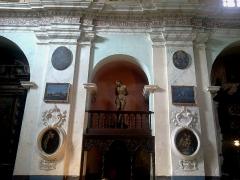 Ancien couvent des Franciscains -  La Roya Saorge Monastere Franciscain Eglise Nef Christ