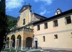 Ancien couvent des Franciscains -  La Roya Saorge Monastere Franciscain Entree