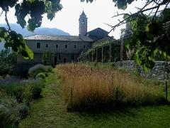 Ancien couvent des Franciscains -  La Roya Saorge Monastere Franciscain Jardin