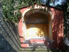 Ancien couvent des Franciscains -  La Roya Saorge Monastere Franciscain Jardin Abri 07072015