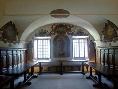 Ancien couvent des Franciscains -  La Roya Saorge Monastere Franciscain Refectoire