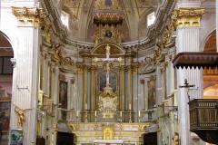 Eglise Saint-Michel - Deutsch: Innenansicht der Kirche von Sospel