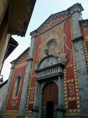 Cathédrale -  La Roya Tende Collegiale Notre-Dame-Assomption Entree Nord