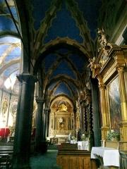 Cathédrale -  La Roya Tende Collegiale Notre-Dame-Assomption Bas Cote Droit