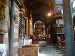 Cathédrale -  La Roya Tende Collegiale Notre-Dame-Assomption Bas Cote Gauche