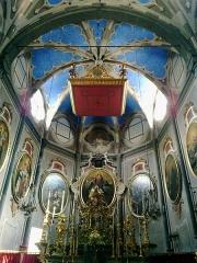 Cathédrale -  La Roya Tende Collegiale Notre-Dame-Assomption Choeur 09072015
