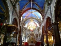 Cathédrale -  La Roya Tende Collegiale Notre-Dame-Assomption Nef