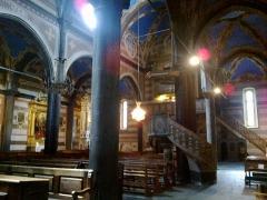 Cathédrale -  La Roya Tende Collegiale Notre-Dame-Assomption Nef Bas Cote Gauche