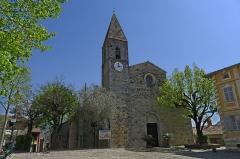 Eglise Saint-Martin - Français:   L\'église Saint-Martin de La Tour