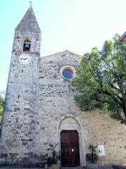 Eglise Saint-Martin - Français:   La Tour - Église Saint-Martin - Façade