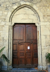 Eglise Saint-Martin - Français:   La Tour - Église Saint-Martin - Portail
