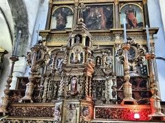 Eglise Saint-Martin - Français:   La Tour - Eglise Saint-Martin - Décor du Maître autel