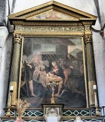 Eglise Saint-Martin - Français:   La Tour - Eglise Saint-Martin - Retable de l\'Adoration des bergers de Guillaume Planeta (1665)