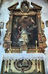 Eglise Saint-Martin - Français:   La Tour - Eglise Saint-Martin - Retable de la mort de saint Joseph - Autel