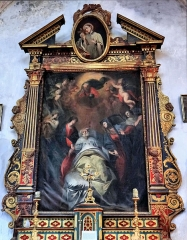 Eglise Saint-Martin - Français:   La Tour - Eglise Saint-Martin - Retable de la mort de saint Joseph