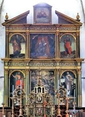 Eglise Saint-Martin - Français:   La Tour - Eglise Saint-Martin - Retable de Saint-Martin - Ensemble