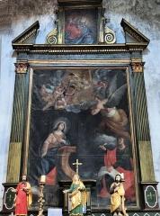 Eglise Saint-Martin - Français:   La Tour - Eglise Saint-Martin - Retable de sainte Brigitte de Suède