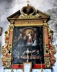 Eglise Saint-Martin - Français:   La Tour - Eglise Saint-Martin - Retable des Âmes du Purgatoire de Bartolome (1662)