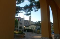 Eglise - English:   View of La Turbie (France)