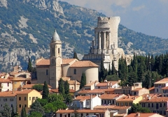 Eglise -  La Turbie in the South of France