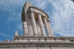 Ruines du Trophée d'Auguste, actuellement Musée du Trophée d'Auguste - English: The ruins of Tropaeum Alpium, a monument built by Augustus as a trophy for conquering the region.  It is near Monaco.
