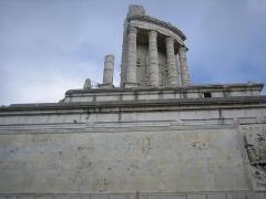Ruines du Trophée d'Auguste, actuellement Musée du Trophée d'Auguste - Deutsch: Rropaeum Alpium in La Turbie