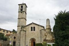 Abbaye - Deutsch: Abteikirche in Valbonne