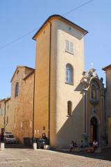 Ancienne cathédrale de la Nativité-de-Notre-Dame - Deutsch: Kathedrale von Vence, Fassade und Lambertturm