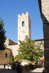 Ancienne cathédrale de la Nativité-de-Notre-Dame - Deutsch: Kathedrale von Vence, Glockenturm von NO