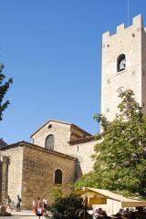 Ancienne cathédrale de la Nativité-de-Notre-Dame - Deutsch: Kathedrale von Vence, Chorhaupt und Glockenturm