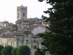 Ancienne cathédrale de la Nativité-de-Notre-Dame -  Vue de Vence (France)