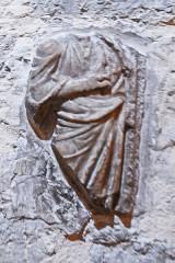Ancienne cathédrale de la Nativité-de-Notre-Dame - Deutsch: Kathedrale von Vence, Relikt eines Reliefs