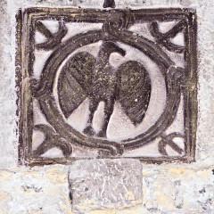 Ancienne cathédrale de la Nativité-de-Notre-Dame - Deutsch: Kathedrale von Vence, merowingisches Ornament, Vogel