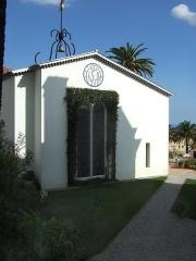 Chapelle des Dominicaines, dite aussi chapelle du Rosaire - Italiano: Entrata della cappella decorata da Matisse, a Vence.