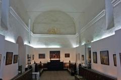 Chapelle des Pénitents Blancs - Deutsch: Ehem. Kapelle der Weißen Büßer in Vence (Innenraum, jetzt Galerie)