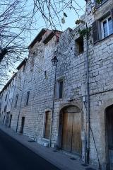 Remparts (vestiges des anciens) -  Remparts de Vence (Alpes-Maritimes)