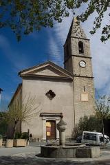 Eglise -  L'église Saint-Jean-Baptistee/The church