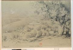 Chateau de Villeneuve et son parc - French etcher and painter