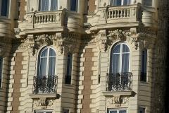 Hôtel Carlton - English: Cannes -  Boulevard de la Croisette - View North & Up on Carlton Hotel